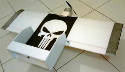 L'aile 'Punisher' en dépron de Pascal